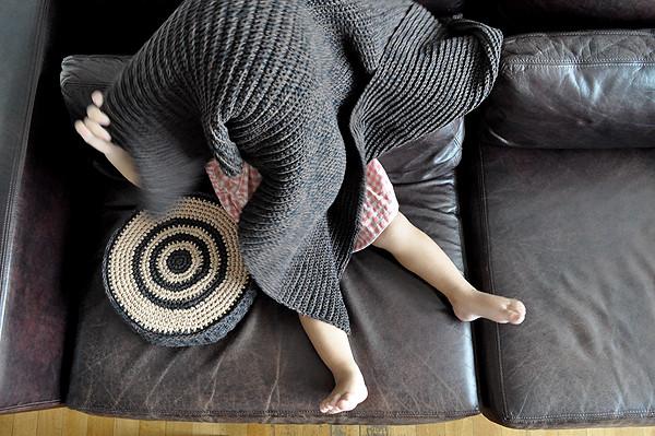 almohadón mini + manta para bebé