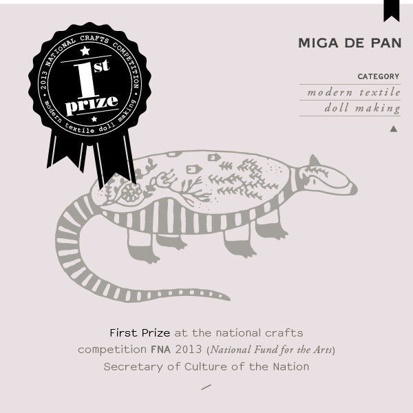 Armadillo by Miga de Pan- First prize at FNA competition