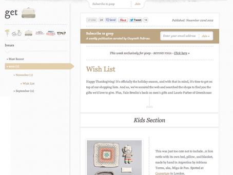 miga de pan at gwyneth paltrow's blog
