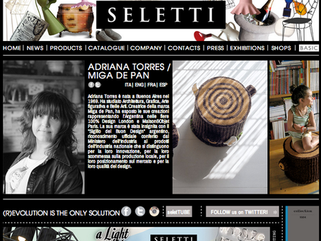 designer of the month for seletti!