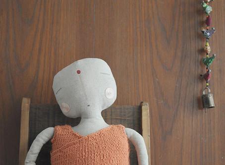 little buddha doll