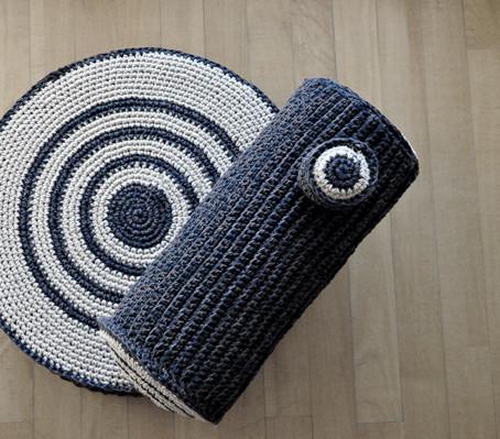 pouff + cushion