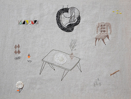 illustration for Paula Ledesma store opening exhibition