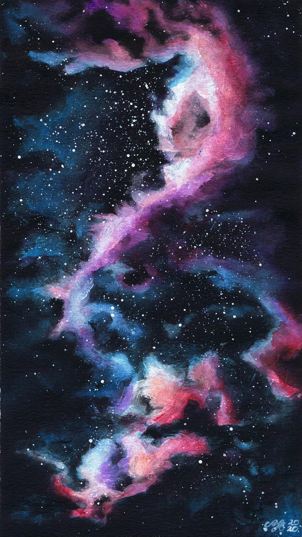 Éjszakai égbolt / Night sky / Nachthimmel