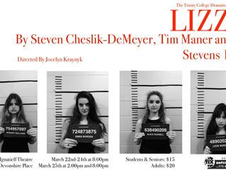 TCDS Presents: Lizzie by Steven Cheslik-DeMeyer Tim Maner & Alan Stevens Hewitt