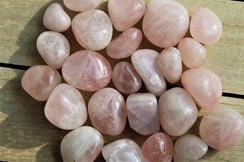 Rose Quartz Tumbled Stone