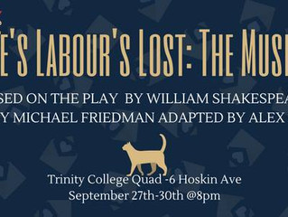 TCDS Presents: Love's Labour's Lost: The Musical