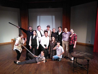 """The Trinity College Dramatic Society brought Shakespeare and Noir together on the Toronto stag"