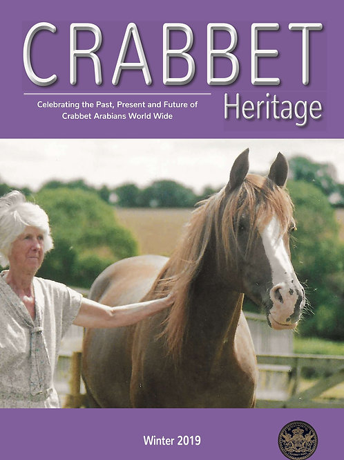 Crabbet Heritage Magazine - Winter 2019
