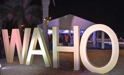WAHO night sign