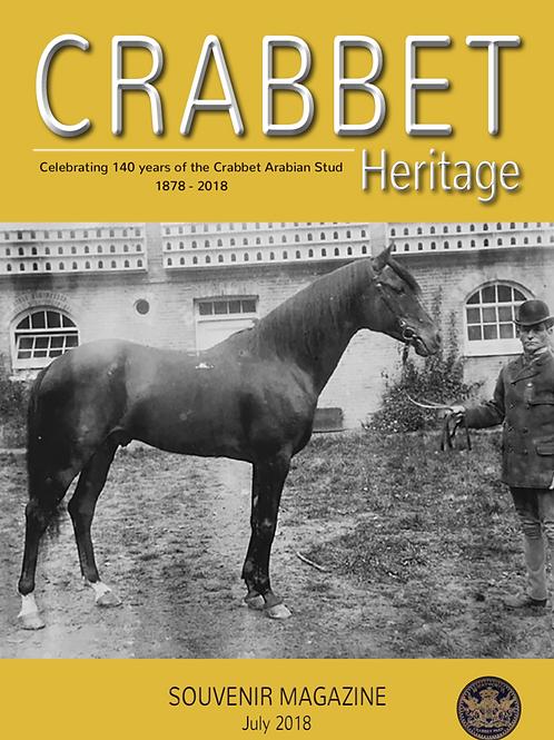 Crabbet Heritage Souvenir Magazine - July 2018