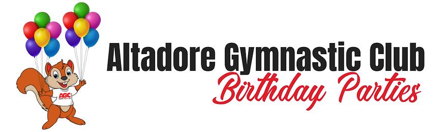 Birthday Parties at Altadore Gymnastic C