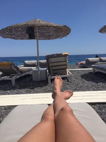 Black Sand Beach - Santorini
