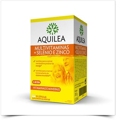 Aquilea Multivitaminas + Selénio e Zinco | 30 cápsulas