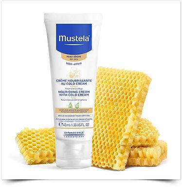 Creme Nutritivo com Cold Cream Mustela c/ 50% de Desconto na 2ª embalagem