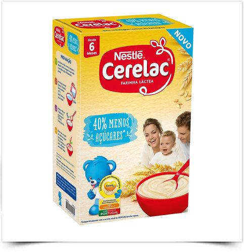 CERELAC FARINHA LÁCTEA 40% MENOS AÇÚCARES 1Kg
