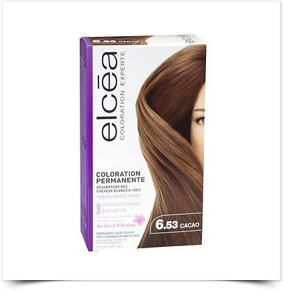 Elcéa Coloration Expert Coloração Permanente 6.53 Cacau