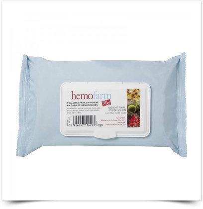 Hemofarm Plus Toalhetes   X60