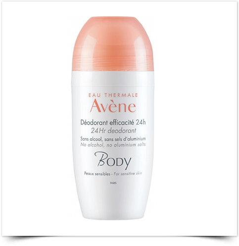 Avene Body Desodorizante Roll On 24h Eficácia | 50ml