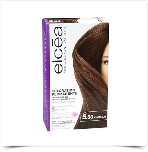 Elcéa Coloration Expert Coloração Permanente 5.53 Chocolate | Kit de coloração