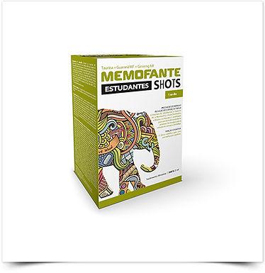 Memofante Estudantes Shots   7 ampolas