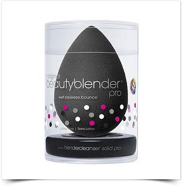 Kit Beautyblender Pro Preta + mini Blendercleanser Solid