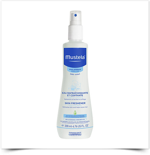 Água Refrescante Perfumada Mustela 200 ml
