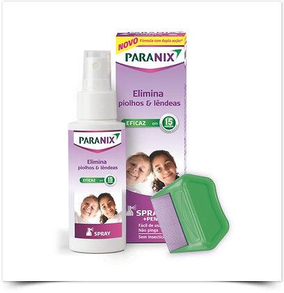 Paranix Spray Piolhos e Lêndeas 100 ml + Pente