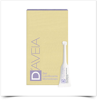 D'Aveia Gel Íntimo Lubrificante Monodoses | 6 x 5 ml