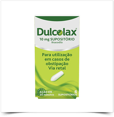 Dulcolax | 10 mg | 6 supositórios