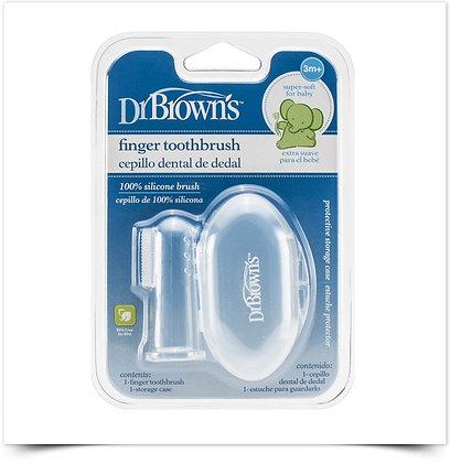 Dr Brown's Escova de Dentes Dedo