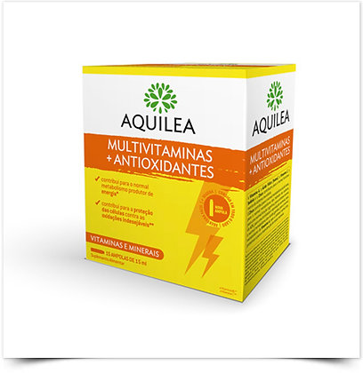 Aquilea Multivitaminas + Antioxidantes | 15 ampolas x 5 mL