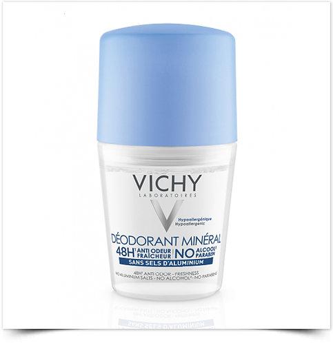 Vichy Desodorizante Mineral Roll-On   50ml