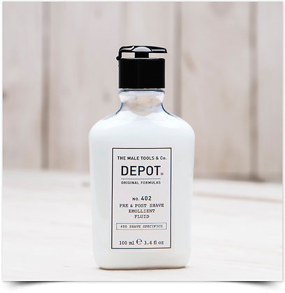 DEPOT NO. 402 FLUIDO EMOLIENTE PRÉ E AFTERSHAVING