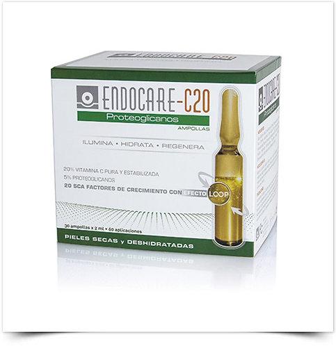 Endocare C20 Proteoglicanos Ampolas | 30 x 2ml