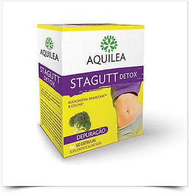 Aquilea Stagutt Plus Detox cápsulas   60 cápsulas