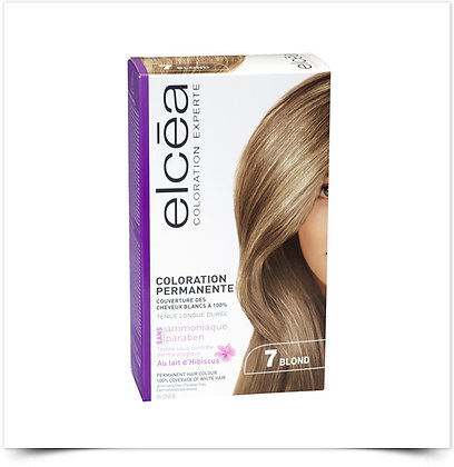 Elcéa Coloration Expert Coloração Permanente 7 Louro