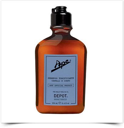 Depot Ape Champô Tonificante Cabelo e Corpo | 250ml