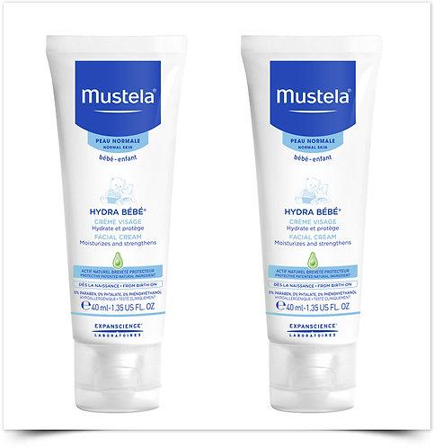 Mustela Hydra Bébé Creme Rosto 40ml - 50% na 2ªEmbalagem