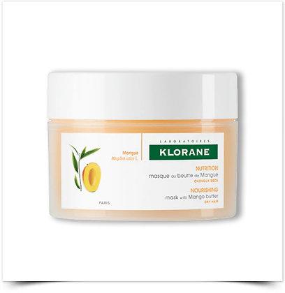 Klorane Máscara reparadora de manteiga de Manga 150ml