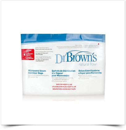 Dr Brown's Sacos Esterilização Microondas | 5 unidades