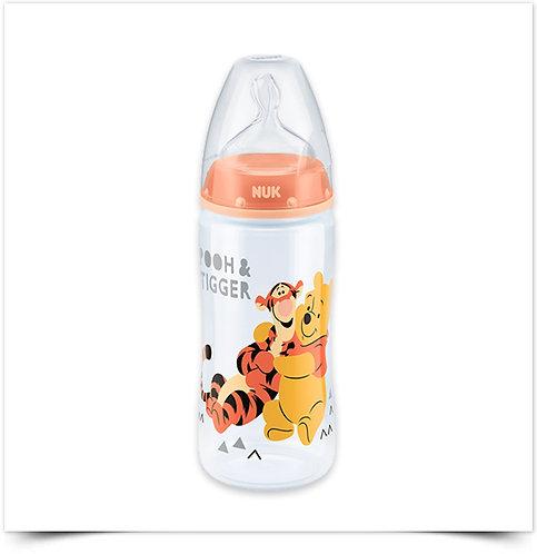Biberão NUK First Choice Winnie the Pooh 300ml, Silicone 0-6M