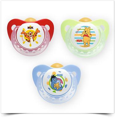 Chupeta NUK Trendline Disney Winnie the Pooh, Látex
