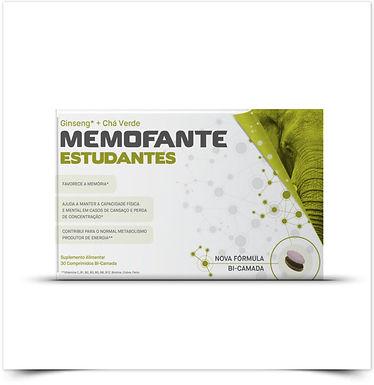 Memofante Estudantes Activos   30 comprimidos bi-camada