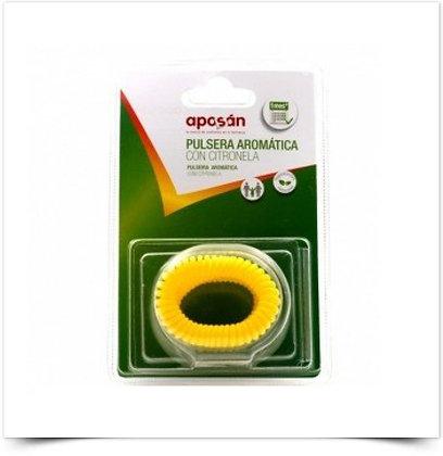 Aposán Pulseira Aromática c/ Citronela Amarela