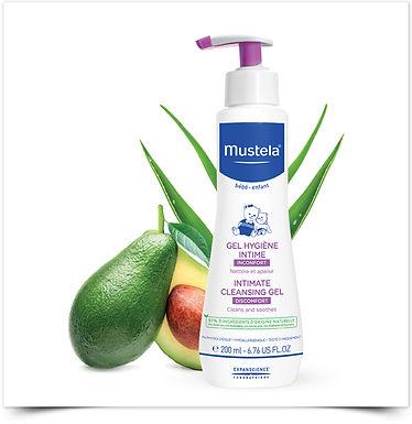 Gel Higiene Íntima Mustela 200 ml