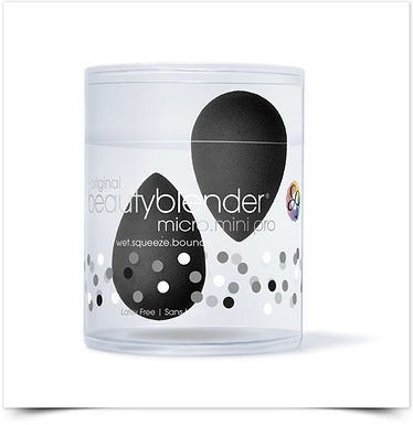 Beautyblender Esponja Maquilhagem Micro Mini Pro Preto | 1 esponja