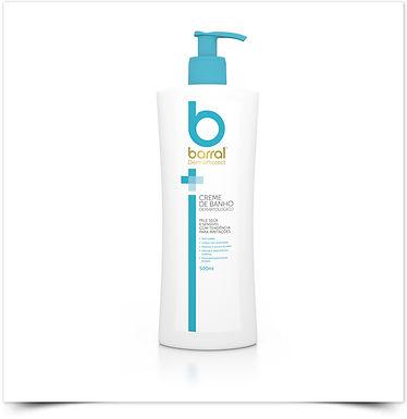 Barral DermaProtect Creme de Banho Dermatológico | 500ml
