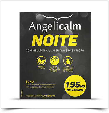 Angelicalm Noite 1,95mg | 30 cápsulas