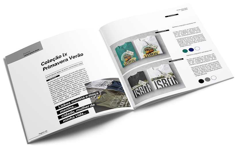Design de Catálogos e Brochuras